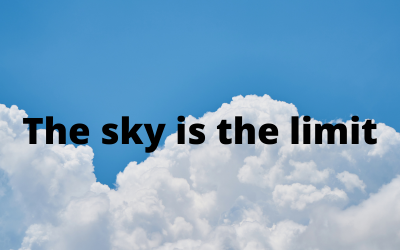Idioms with SKY